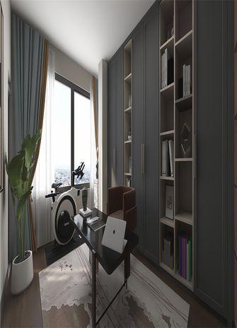 140平米四室一厅现代简约风格书房设计图