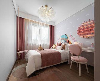 140平米三室两厅现代简约风格儿童房设计图