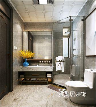 130平米三中式风格卫生间欣赏图