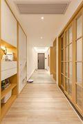 140平米四日式风格走廊装修图片大全