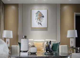 110平米现代简约风格客厅图