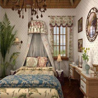 140平米三室两厅田园风格书房欣赏图