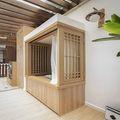 70平米日式风格阳台效果图