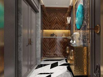 140平米三室一厅法式风格玄关图片大全