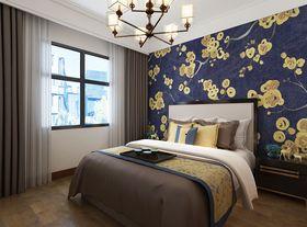 140平米三室兩廳中式風格臥室圖