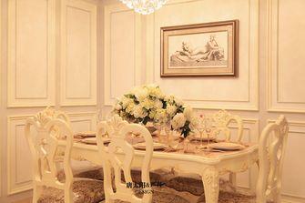 豪华型140平米三室五厅欧式风格餐厅装修图片大全