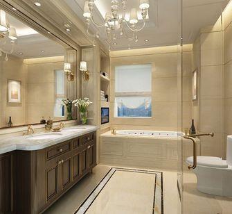 140平米三室一厅欧式风格卫生间设计图