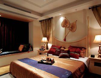 富裕型140平米四室一厅东南亚风格卧室装修案例