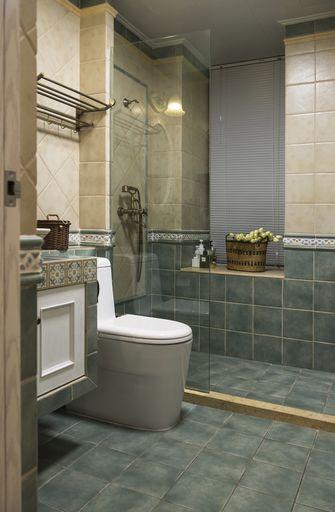 90平米三室一厅地中海风格卫生间图片