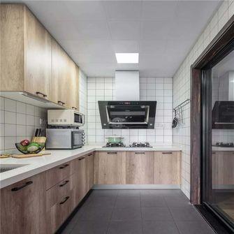 110平米三室两厅混搭风格厨房图片大全