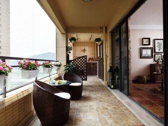 140平米四室一厅田园风格阳台效果图