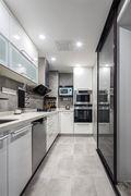 120平米四室两厅现代简约风格厨房图