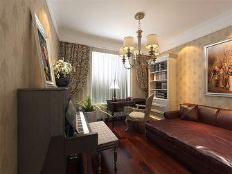 140平米四室两厅田园风格影音室欣赏图