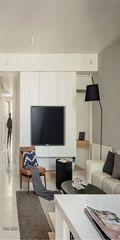 120平米三宜家风格客厅设计图