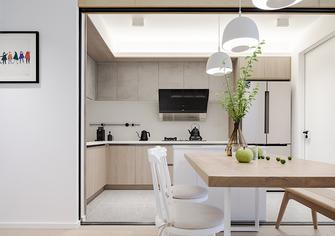 70平米三室一厅北欧风格厨房效果图