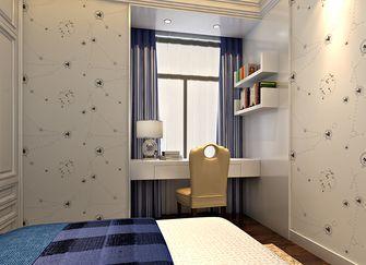 富裕型120平米三室两厅英伦风格儿童房装修图片大全