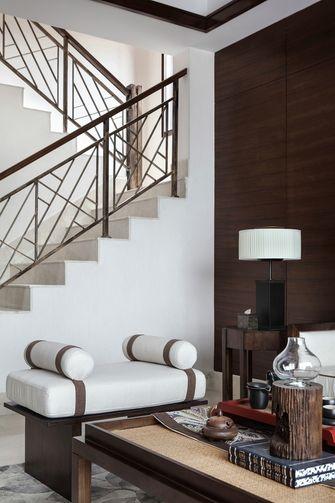 140平米别墅东南亚风格楼梯间效果图