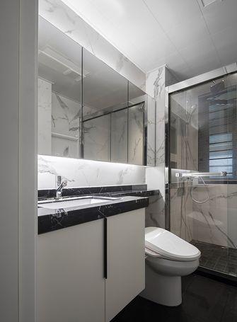 110平米三现代简约风格卫生间装修图片大全