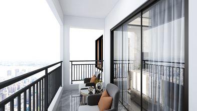 100平米三现代简约风格阳台装修效果图