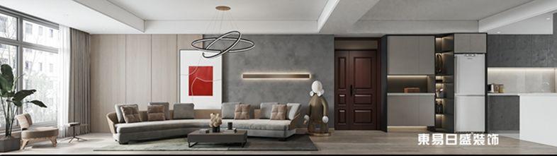 140平米三室两厅现代简约风格其他区域装修效果图