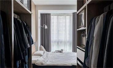60平米一室一厅日式风格衣帽间设计图