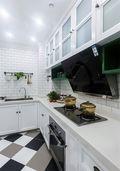 80平米宜家风格厨房装修案例