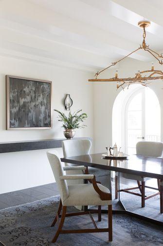 140平米复式地中海风格餐厅设计图