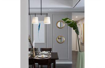 120平米三室两厅现代简约风格餐厅装修图片大全