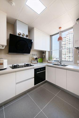 豪华型130平米三室两厅日式风格厨房图片大全