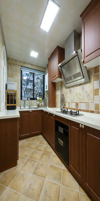 15-20万100平米美式风格厨房图