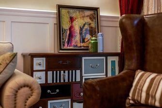 110平米三室两厅美式风格客厅图