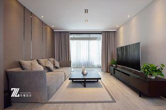 富裕型140平米复式现代简约风格客厅飘窗图