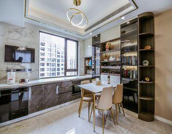 140平米三室一厅现代简约风格餐厅设计图