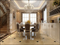 10-15万140平米别墅北欧风格楼梯装修图片大全