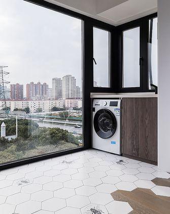 130平米三室一厅现代简约风格阳台图
