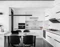 130平米四现代简约风格厨房欣赏图