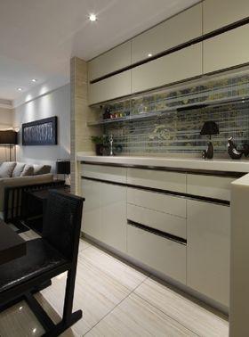 5-10万90平米三室一厅混搭风格厨房图
