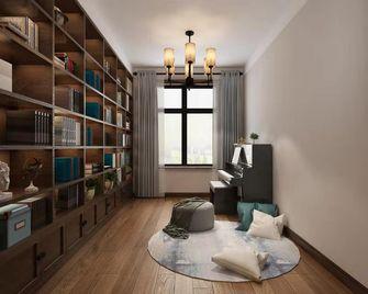100平米三室两厅中式风格书房设计图
