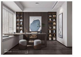 140平米复式中式风格书房图