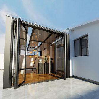 140平米复式中式风格阳台图
