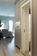 130平米三室两厅美式风格走廊图片大全