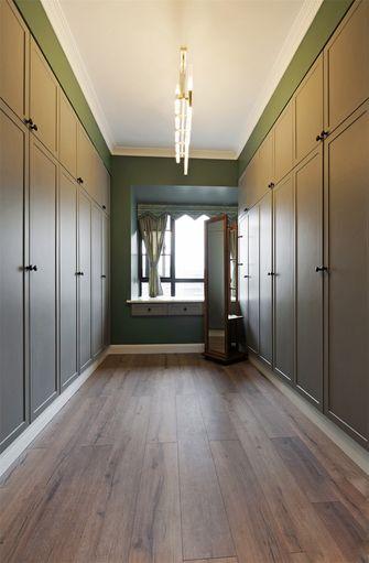 110平米三室两厅北欧风格衣帽间图
