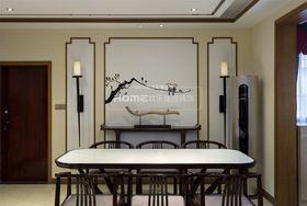 130平米三室兩廳混搭風格餐廳裝修案例