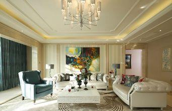 110平米新古典风格客厅装修图片大全