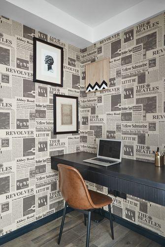 100平米三室两厅混搭风格书房装修效果图