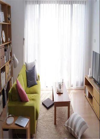 50平米公寓日式风格客厅图片