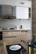 110平米复式北欧风格厨房装修案例