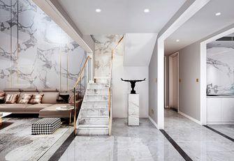140平米别墅现代简约风格楼梯间欣赏图