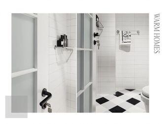 60平米一室一厅北欧风格卫生间图片大全