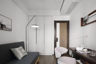 110平米三室两厅英伦风格书房设计图